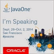 JavaOne: I'm Speaking